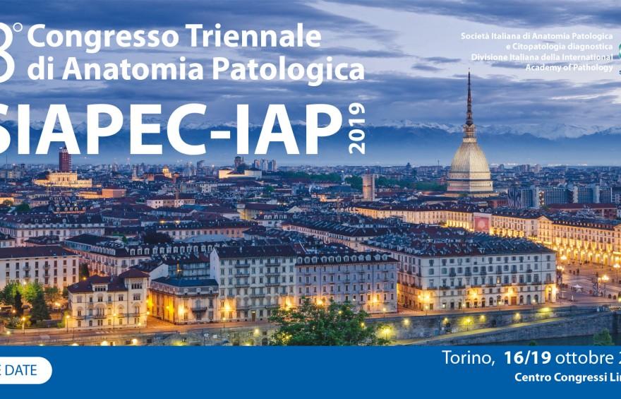 8° CONGRESSO TRIENNALE DI ANATOMIA PATOLOGICA SIAPEC-IAP 2019